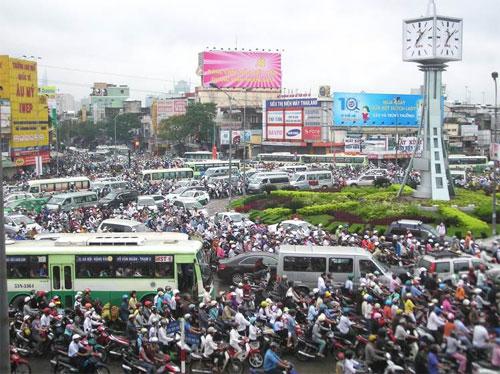 Ô nhiễm tiếng ồn do các phương tiện tham gia giao thông