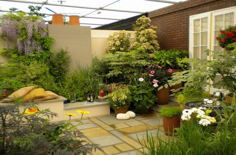 Những điều nên lưu ý khi thi công vườn trên sân thượng