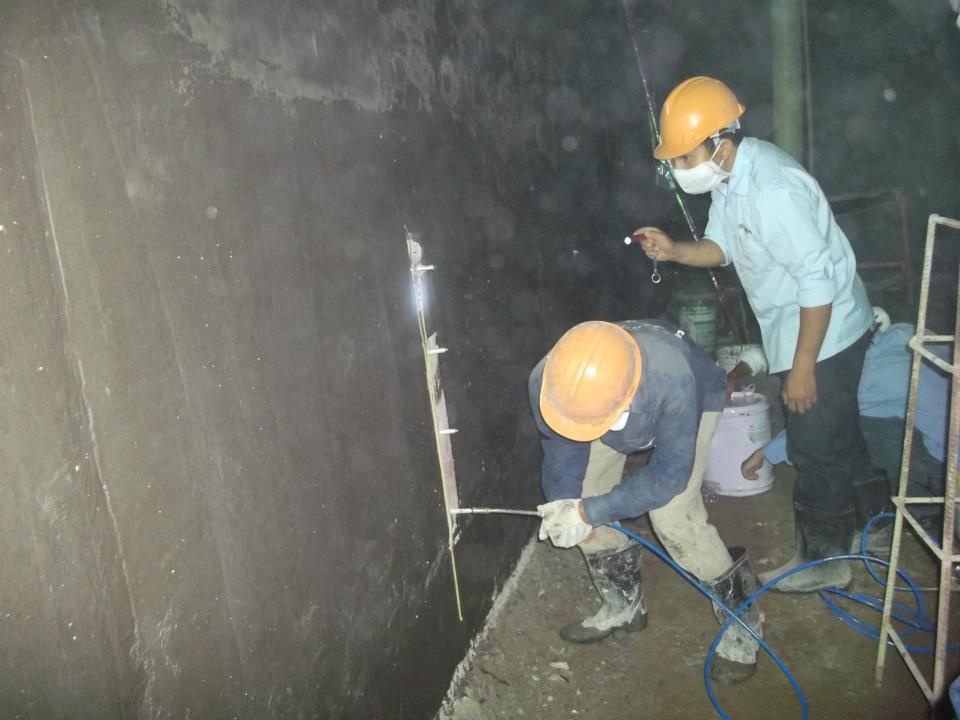 Cách chống thấm tường ngoài tầng hầm