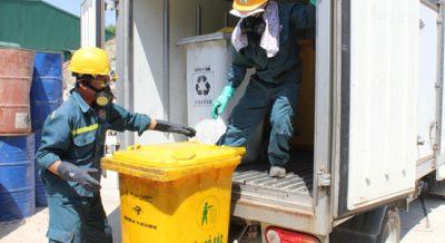 Phương pháp xử lý chất thải, rác thải y tế